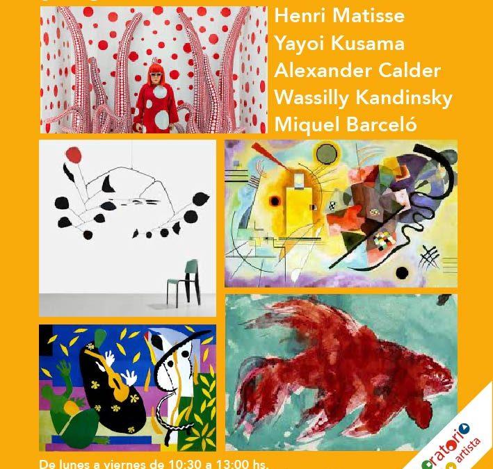 Semanas con arte. Del 29 de junio al 3 de Julio